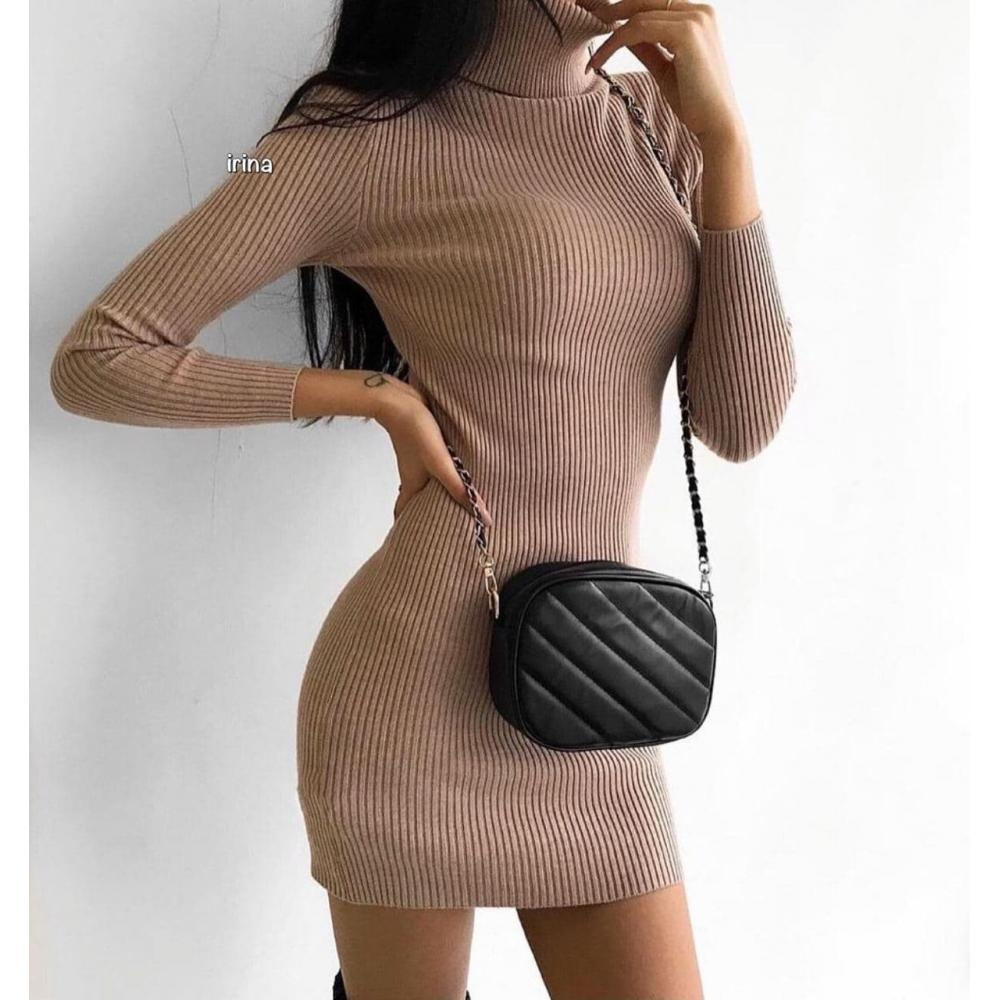 Платье ангора рубчик