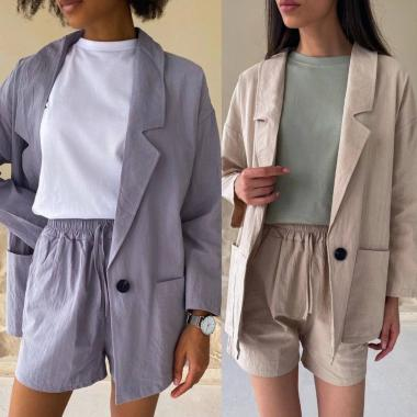 Костюм (пиджак+шорты)