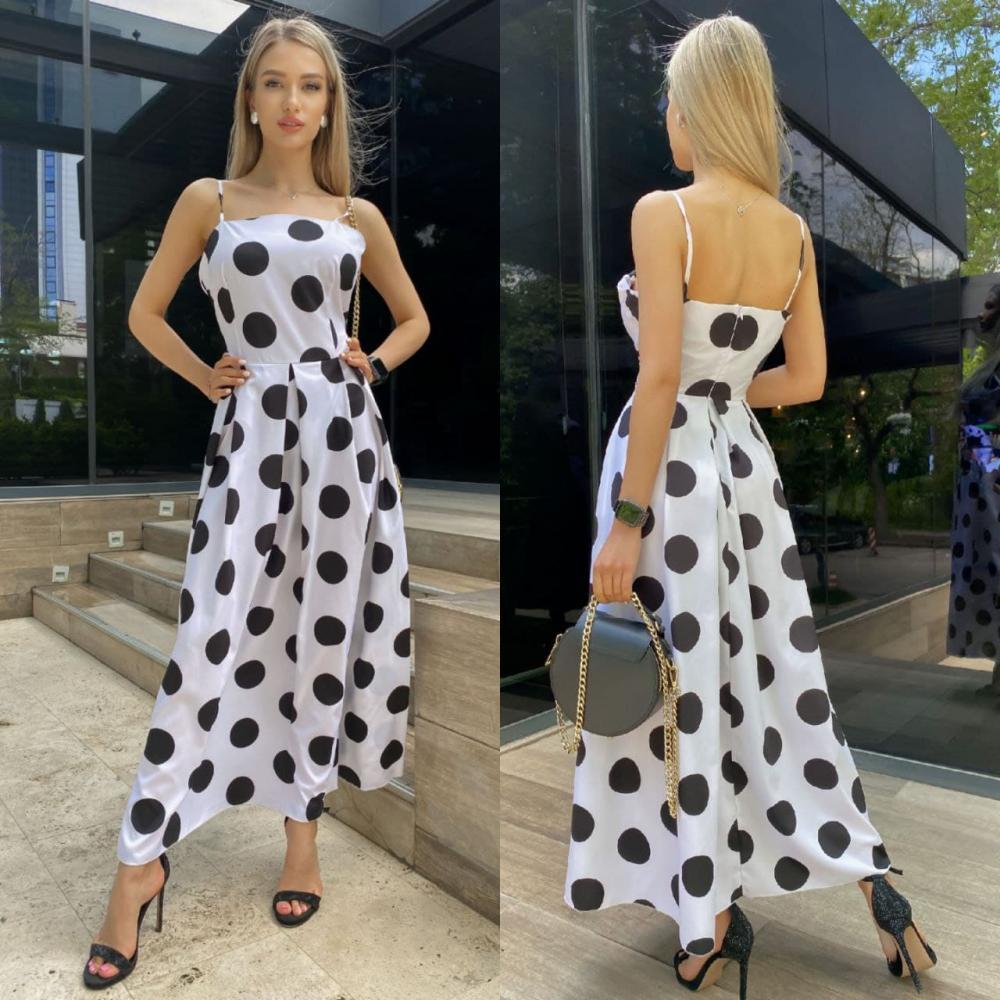 платье горох крупный